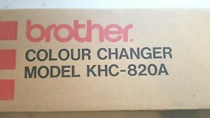 RARE BROTHER KNITTING MACHINE STANDARD GAUGE KHC820A 2 TWO COLOUR YARN CHANGER