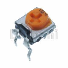 10pcs @$0.8 Variable Resistor Trimpot POT Adjustable 1 Turn Horizontal 100K