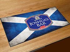 Personalizado Bandera De Escocia etiqueta de cerveza toalla de bar Bares Clubes