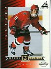 """Manny Maholtra 1997-98 Pinnacle '97 Zenith Dare to Tear 5""""x7"""" Team Canada #Z76"""