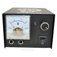 Pro Lion Totem Pointer Variable Analog Tattoo Machine Power Supply Source Box