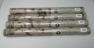 NEXT Paste the Wall Wallpaper Vegetable Print Four (4) Rolls Same Batch NEW