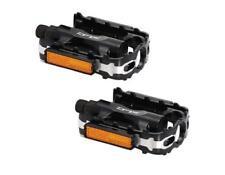 XLC MTB und Trekking-Pedal PD-M02, Alukörper/Alukäfig CNC Pedale schwarz Alu