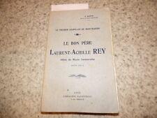 1913.Le père Laurent-Achille Rey chapelain de Montmartre.Baffie