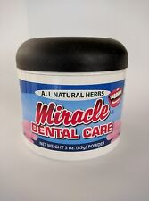 Miracle Dental Care Tooth Powder All Natural Herbs 85g 한국어 지원