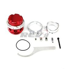 Rev9 RS 50mm V band BOV BLOW OFF VALVE TURBO w/ 8psi Spring flange clamp Red