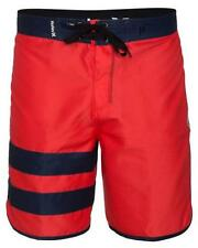 Hurley Block Party Phantom Solid Boardshort (38) Bright Crimson