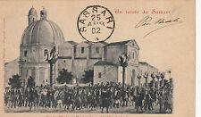 NP7755 - SASSARI - SANTA MARIA E PROCESSIONE CANDELIERI VIAGGIATA 1902