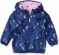 Osh Kosh Bgosh Girls Navy Unicorn Reversible Jacket Size...