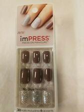 ImPress Broadway Nails Press-On One Step Gel Manicure #56660 ECSTATIC CLING
