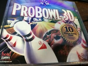 USED AMF Probowl 3D for Windows 95 or 98(CD-ROM) with front artwork