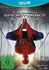The AMAZING SPIDER-MAN 2 (Nintendo Wii U, 2014, DVD-BOX)