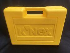 Knex Yellow Plastic Storage/Carry Case 15 x 12 x 5 Empty K'Nex