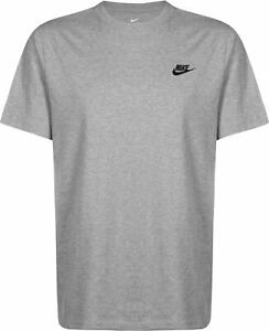 NIKE 'ESSENTIALS' T-SHIRT - GREY HEATHER - LARGE - SPECIAL PRICE£££