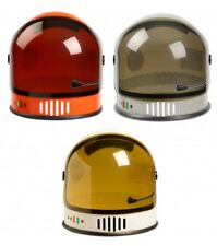 Kids Astronaut Helmet. White, Orange or Silver Colors. Moving Visor. Ages 3-10.