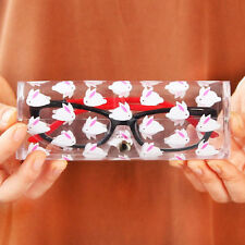 Clear Sunglasses Glasses Case Spectacle Storage Protection Portable Carry Box HC