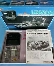 Nichimo LEOPARD Tank series Motorized 1:35 R/C Systems. 2 RE-140 Included. N.I.B