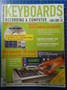 KEYBOARDS Recording & Computer September 2004 Groove Gear Samplitude To826