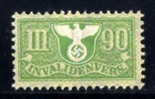 293-GERMAN EMPIRE-Third reich.WWII.NAZI Stamp Revenue 2 WEEKS INVALIDENVERS.MNH
