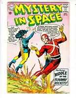 "Mystery In Space 85 VG (4.0) 8/63 Adam Strange! ""Riddle of the Runaway Rockets!"""