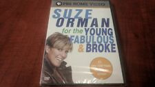 SUZE ORMAN FOR THE YOUNG FABULOUS & BROKE DVD Brand New Sealed Free Shipping!!