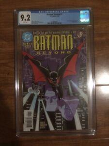 Batman Beyond 1 CGC 9.2