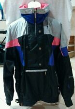 Vintage OSSI Men's Ski Snowboard Gray and Black Jacket Skiwear SIZE L Large