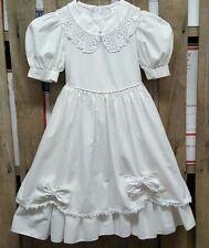 BEAUTIFUL VINTAGE RUTH OF CAROLINA SIZE 4 GIRLS WHITE DRESS
