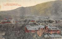 D30/ Glenwood Springs Colorado Co Postcard c1910 Hotel Backside Birdseye