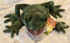 Folkmanis Toad Hand Puppet Puppets