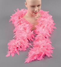 Ladies Feather Boa  Burlesque Hen Night Halloween Parties Fancy Dress Party