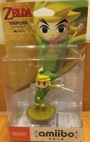 Amiibo The Legend of Zelda Toon Link The Wind Waker Nintendo new figure