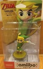 Amiibo The Legend of Zelda Toon Link The Wind Waker Nintendo Wii U