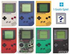 GameBoy Classic Konsole (Farbe nach Wahl) + GRATIS Nintendo GB Spiel TOP!