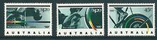 AUSTRALIA 1992 1269/71 BARCELONA'92 3v. B-92 I CICLISMO, BARRA, LEVANTAMIENTO