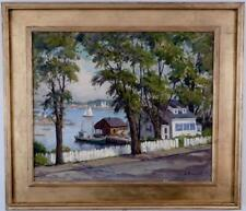 "Rockport Massachusetts "" Gloucester Harbor "" Jacob Greenleaf"