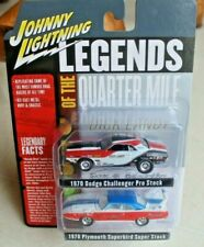2020 Johnny Lightning 2 Pack 1970 Dodge Challenger & 1970 Plymouth Superbird