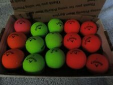 Ba 15 CallowaysuperSoft several colors golf balls used