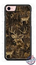 Buck Deer in Wood Camo Customized Phone Case For iPhone Samsung S20 LG Google 4