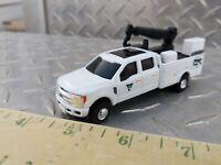 1/64 CUSTOM farm toy Ford f350 sd Vermeer dealer service pickup truck crane nice