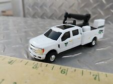 1/64 CUSTOM farm toy Ford f350 sd Vermeer dealer service pickup truck crane nice