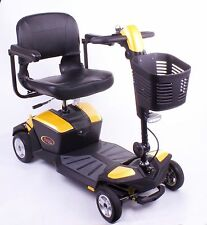 New YELLOW Pride Apex Rapid - 18ah Travel Mobility Scooter Full Suspension