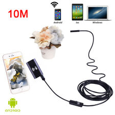 New 10M Endoscope Borescope Wireless 6LED Inspections Camera for Android PC