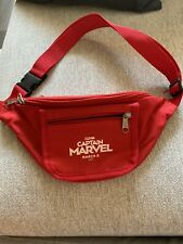 Captain Marvel Premier Swag Promo Fanny Pack. Rare Collectors item!