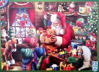 FX Schmid Santa's Toy Shop 1000 piece christmas jigsaw puzzle