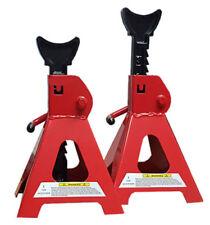 Car 3T ton Axle stand set Jack stands Pair LARGE quick release 280cm 430cm lift