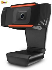 Webcam Auto Focusing Web Camera HD Cam with Microphone For PC Laptop Desktop USA