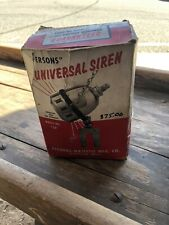 Vintage bicycle SIREN Person Majestic Mfg. Co.wheel driven '40's '50's bike horn