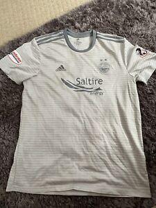 """Aberdeen Football Club Away Shirt """"Dunbar 12"""" on back"""