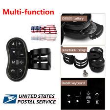 Multi-function Wireless Car Steering Wheel Button Remote DVD GPS Controller Key